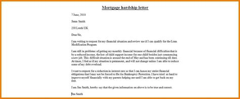 Mortgage Hardship Letter Divorce 9 Mortgage Hardship Letter Assistant Cover Letter