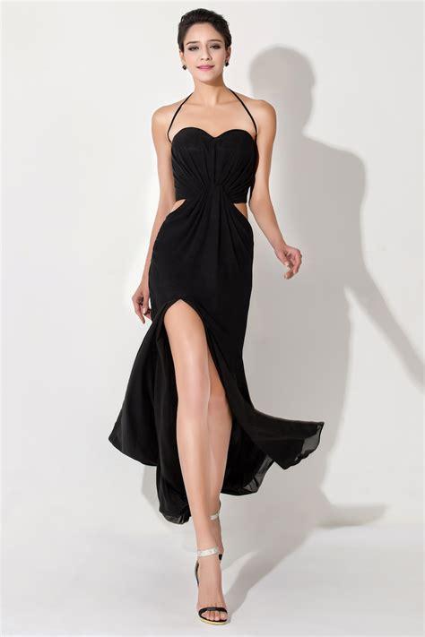 dresses for cheap black simple evening dresses halter