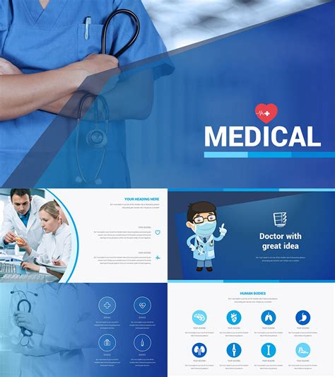 medical powerpoint templates presentation template medical medical