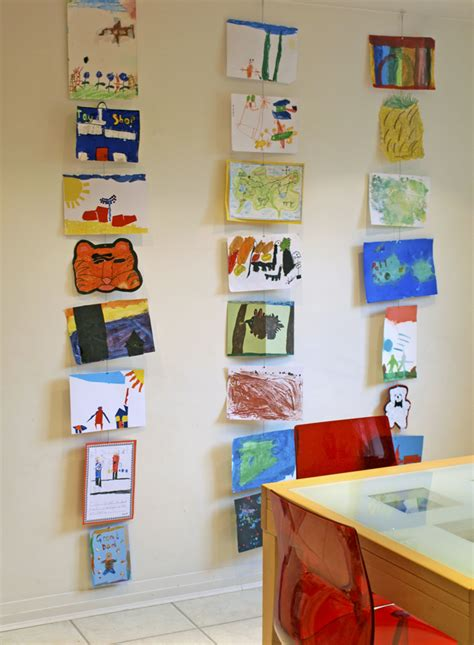 art display ideas children s art gallery walls old new artful adventures