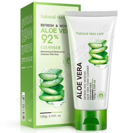 Cleanser Bioaqua by 100ml Bioaqua Aloe Vera Foam Cleanser Haircare2u