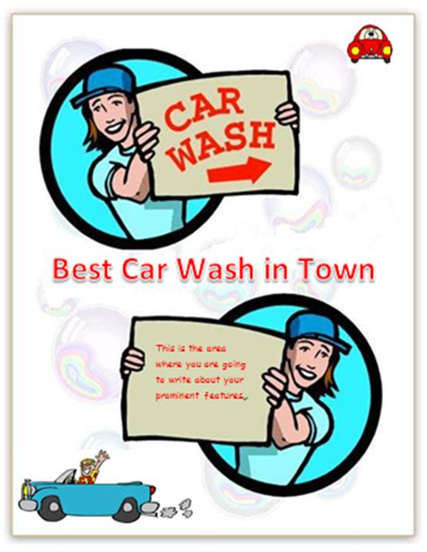 car wash template car wash posters background studio design gallery