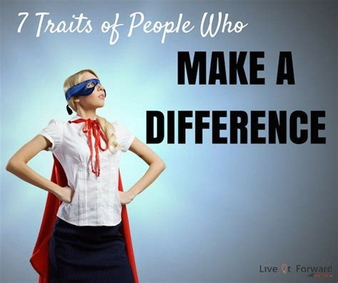 7 Ways To Make A Difference In Someones by Success Archives