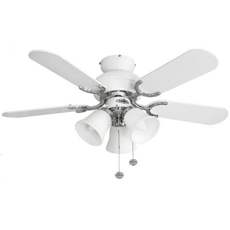 36 inch ceiling fan with light fantasia capri 36 inch pull cord white and stainless steel