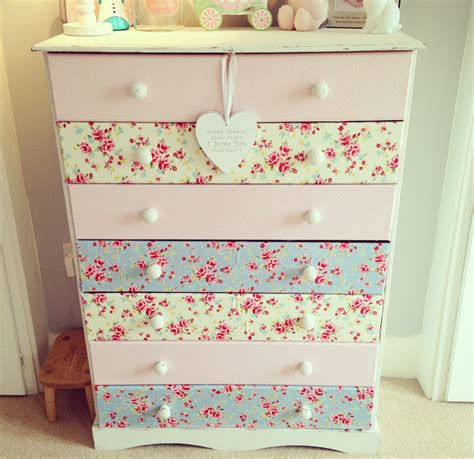 Decoupage Chest Of Drawers - the home that made me diy makeover decoupage chest of