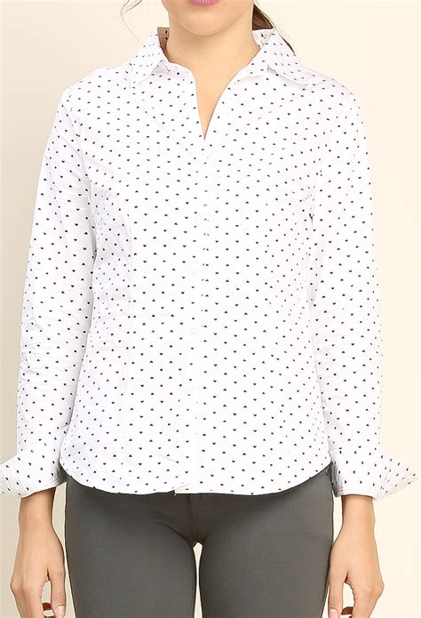 heart pattern blouse heart pattern shirt shop blouse shirts at papaya clothing