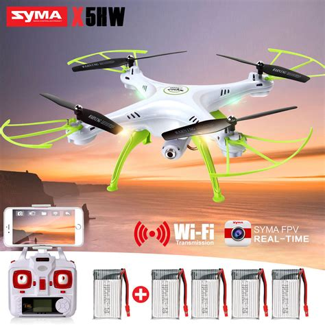 New Drone Quadcopter Syma X5hw Wifi Fpv Altitude Hold Jakartah altitude hold syma x5hw 1 rc drones quadcopter fpv wifi hd 2 4g 4ch 6axis