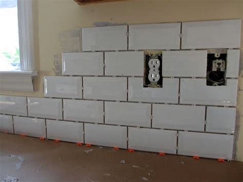 tiling a kitchen backsplash do it yourself do it yourself subway tile backsplash home decor and