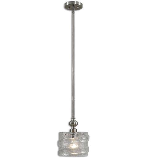 Uttermost Pendant Lights Uttermost 21925 Mossa 1 Light Mini Pendant Ls