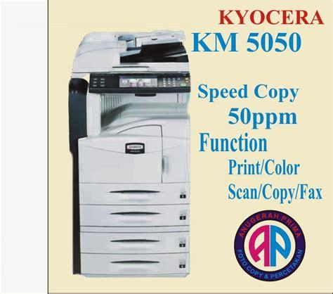 menjual mesin foto copy canon  kyocera   bekas