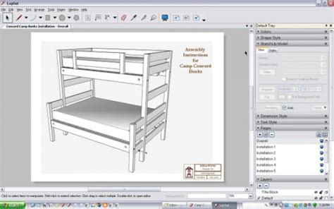 sketchup layout add scale installation instructions in sketchup layout finewoodworking