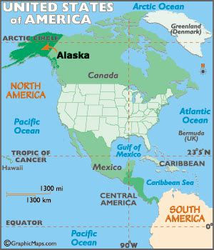 map usa canada alaska alaska map map of alaska geography of alaska