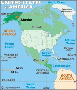 alaska map map  alaska geography  alaska worldatlascom