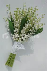 Lily Of The Valley Silk Flowers - stunning ivory lily of the valley bridal bouquet with