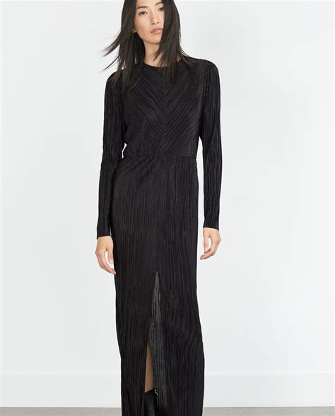Zahra Maxy Dress pleated dress maxi dresses zara united states