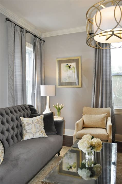 gold and grey living room gray traditional living room elegant gray living room