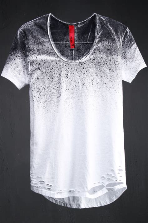 spray painted shirts best s avant garde fashion grunge spray painted