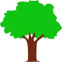 Tree Outline Green by Vectra Green