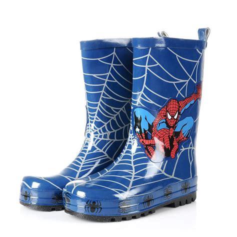 Aranha Boots botas de chuva para as crian 231 as do homem aranha vender por