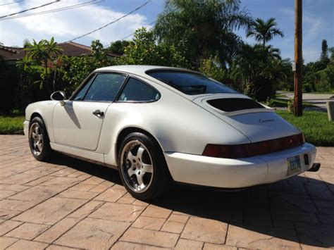 1990 porsche 911 blue 1990 porsche 911 2 manual gp white marine