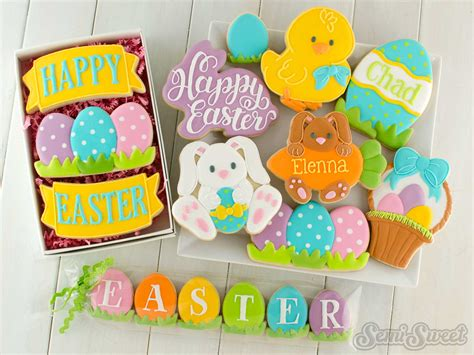 decorated easter cookies decorated easter cookies and cutters semi sweet designs