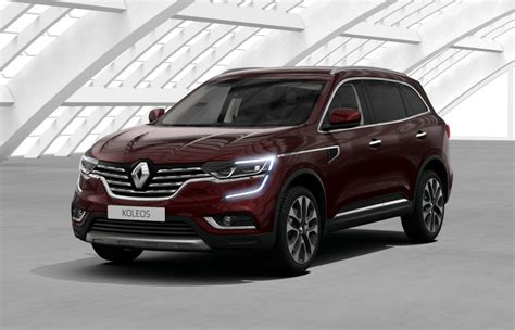 renault koleos 2017 red renault koleos ii 2018 couleurs colors