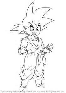 z drawing learn how to draw goten from z