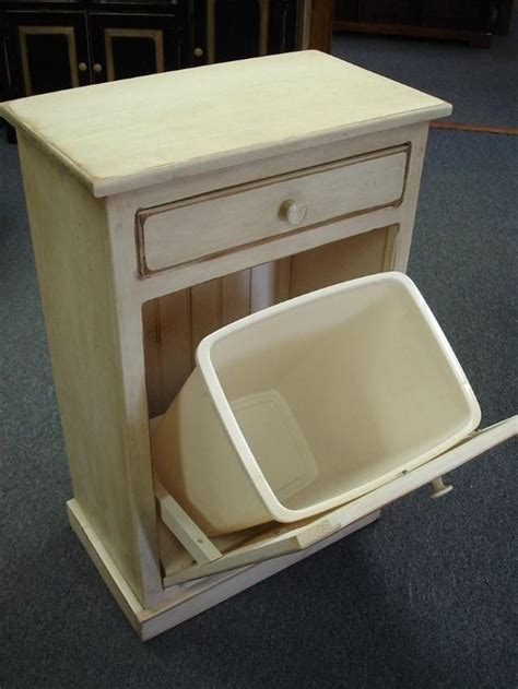 kitchen trash bin cabinet 44 best images about primitive trash can storage on