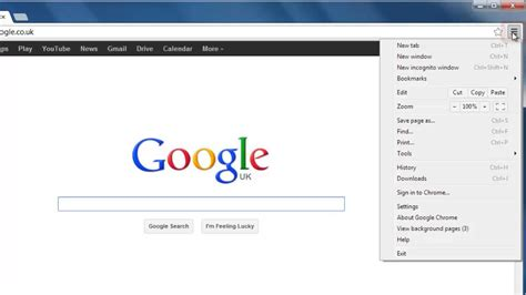 google chrome top bar how to get google chrome home button youtube