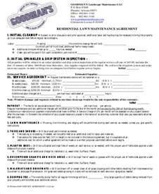 Maintenance Agreement Template Sample Maintenance Contract Agreement 8 Examples In Word