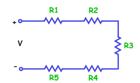 series of resistor physics for resistors in series and parallel