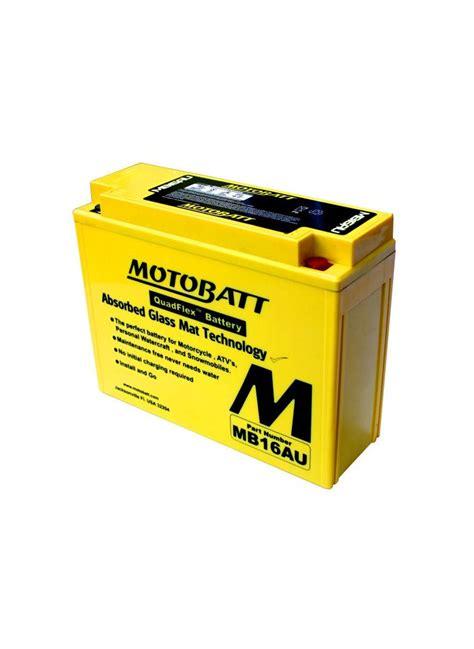 MOTOBATT ACCU MB16AU 20,5Ah