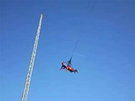 Adrenalin Swing Ride On Blackpool South Pier Youtube