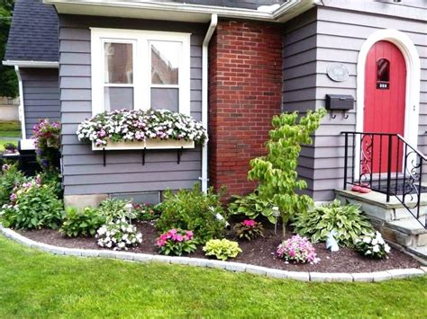 flower design house flower bed ideas front of house small front yard flower