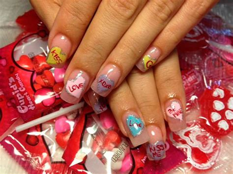 lovely valentines day nail art ideas beautyfrizz