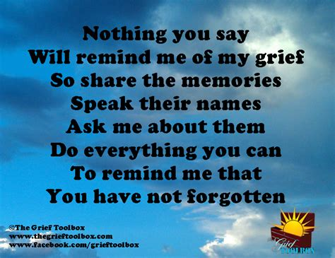 how to comfort someone who lost a friend remind me that you have not forgotten the grief toolbox