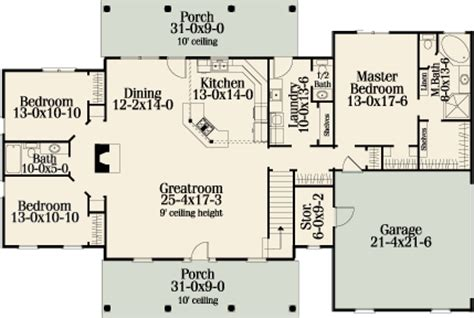 woodside 5140 3 bedrooms and 2 baths the house designers