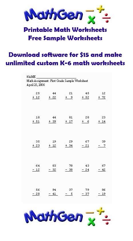 Basic Math Worksheets by 25 Best Images About K 6 Basic Math Lessons On