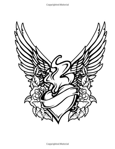 tattoo love coloring pages tattoo colouring book beverley lawson adult colouring