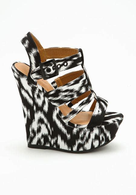 tribal pattern wedges black white tribal pattern wedges from love culture