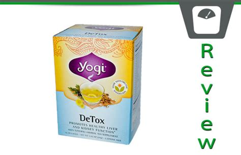 What Is In Yogi Detox Tea by Yogi Detox Tea Review A Healthy Cleansing Brew That