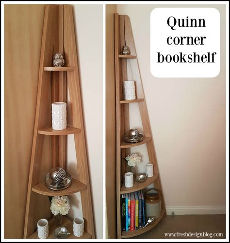 ladder style bookcase quinn contemporary corner ladder style bookcase from