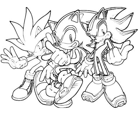 printable coloring pages sonic the hedgehog sonic the hedgehog coloring pages printable sonic