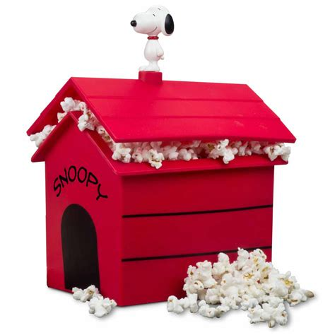 snoopy puppy snoopy house popcorn popper the green