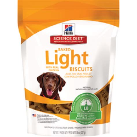 science diet light calories science diet canine baked light biscuits with chicken