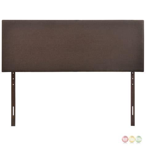 Bassett Furniture 5211 by Region Modern Plain Upholstered Headboard Brown