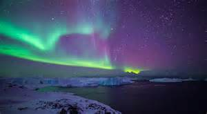 northern lights the fiord icecaptours