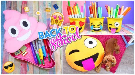imagenes de utiles escolares de foami 3 diy utiles escolares emojis manualidades regreso a