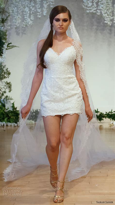 mini skirt wedding dresses sarah jassir 2017 wedding dresses decor advisor