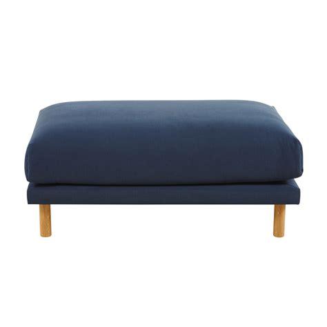 pouf per divano pouf per divano componibile in cotone e lino navy